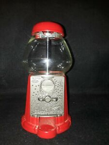 Carousel Gumball Bank Vending Machine Red Stand (TAKES QUARTERS)