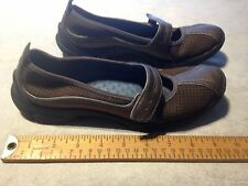 CLARK'S PRIVO 76520 MARY JANE STYLE Women's Slip On Athletic Shoes US 7M Brown