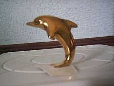 "Hagen Renaker Limited Edition Sr Feng Shui Porpoise Jumping Dolphin 1 7/8"" Tall"