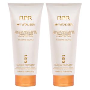 RPR My Vitaliser Leave-In Moisturiser Treatment 200ml x 2 Cruelty - Paraben Free