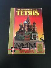 Tengen Tetris ORIGINAL Nintendo NES BOX ONLY! Authentic! RARE! A