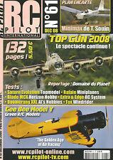 RC PILOT N°61 PLAN : MINIMAX / GEE BEE MODEL Y / BLADE MCX / RAFALE / BOOMERANG