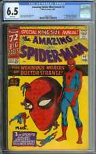 AMAZING SPIDER-MAN ANNUAL #2 CGC 6.5 WHITE PAGES // 1ST APP XANDU 1965