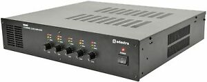 Adastra RS605 100V 5-Zone PA Slave Amplifier – 5 x 60W