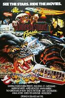 Universal Studios King Kong ET Jaws Back to the Future Ghostbusters Poster Print