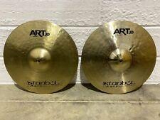 "Istanbul Agop ART20  Hi Hat 14"" Cymbals (Pair) Drum Accessory"