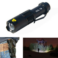 Ultrafire XML-T6 1000 Lumens 5 Mode Tactical Flashlight LED Focus Torch Lamp