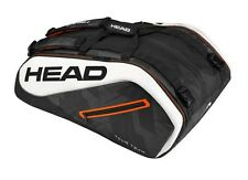 Brand New Head Tour Team 12 Racquet MonsterCombi Tennis Racquet Bag BKWH 2017
