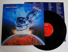 JUDAS PRIEST - RAM IT DOWN LP VINYL EX/EX Rare Original 1988 UK Album NWOBHM