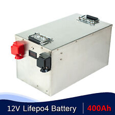 LiFePO4 12v 400Ah Home Solar Energy Storage System Battery for RV with charger