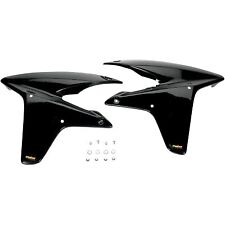 Maier Mfg - 117480 - Radiator Scoops, Black Honda TRX450ER,TRX450R Sportrax,TRX4