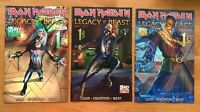 IRON MAIDEN LEGACY O/T BEAST Vol 2 NIGHT CITY 1 Cover A, B, C Heavy Metal NM/NM+