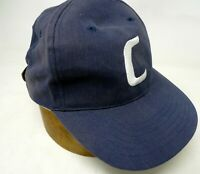 VTG Pro Specialities CLARITIN Advertising Baseball Hat Strapback Cap Navy Blue