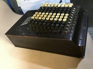 "Vintage Comptometer calculator, 1914 model ""H""?, Felt & Tarrant, Chicago"
