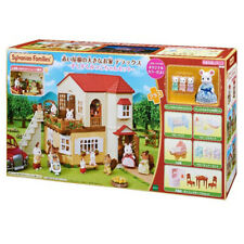 EPOCH Sylvanian Families Big house with red roof Deluxe 19-RI1 triplets set 2019