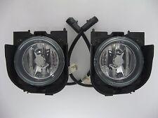 Pair Fog Light Lamp Lens Housing Assembly Left Right for Ford Explorer 99 00 01