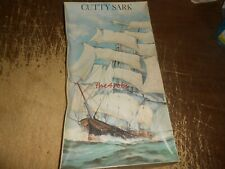 """MPC Cutty Sark Ship Model Unstarted in Open Box 19"""" Long"""