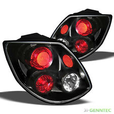 For 2003-2004 Toyota Matrix Altezza Black Tail Lights Rear Brake Lamp Pair New