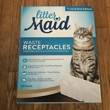 LitterMaid Waste Receptacles, 18 Count 1st And 2nd Edition Litter Maid