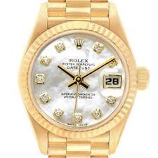Rolex Datejust 26mm 69178 Mujer Oro Amarillo Automático Blanco Mop - 1yrwarranty