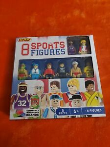 Blokko Building Blocks People 8 Sports Figures Series