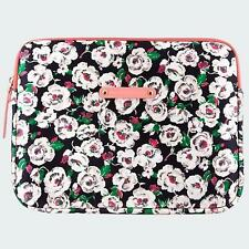 NEW Juicy Couture Rose / Flower iPad Tablet eBook Protective Padded Sleeve Pouch