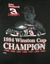 Vintage Nutmeg 1994 Winston Cup Champion Dale Earnhardt NASCAR T-Shirt M TAGS!