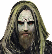 Halloween Lifesize Costume ROB ZOMBIE LATEX DELUXE MASK Haunted House NEW
