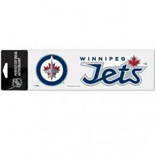 "Winnipeg Jets 3""x10"" Color Auto Decal [NEW] NHL Car Truck Emblem Sticker"