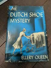 1945 The Dutch Shoe Mystery by Ellery Queen - Triangle Books