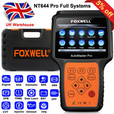 Foxwell NT644 PRO All System Full Vehicle Diagnostic Scan Tool Car OBD2 Scanner