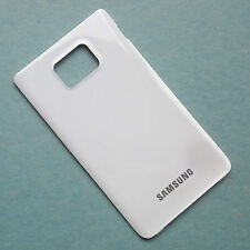 Genuine Samsung GT-i9100 Galaxy S2 II rear battery cover back panel Gloss White