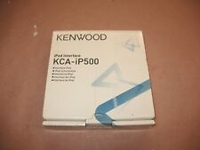 KENWOOD KCA-iP500 SiriusConnect to Kenwood Interface for KTC DPX KDC KIV models