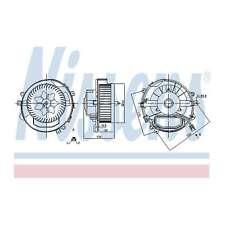 Fits Skoda Octavia 5E5 2.0 TDI Genuine Nissens Interior Heater Blower Motor Fan