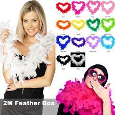 2M Feather Boa Strip Fluffy Craft Costume Hen Night Dressup Wedding Fancy Party