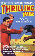Michael Chabon, Editor THRILLING TALES Illustrated First Printing TPB