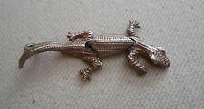 Articulated Sterling Silver Lizard Pendant   221803