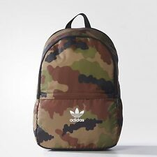 NEW ADIDAS ORIGINALS CAMOUFLAGE CAMO ESSENTIALS BACKPACK BAG  #AY7760