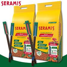 Seramis 2 x 15 l Pflanz-Granulat für Zimmerpflanzen + je 2 Gießanzeiger gratis