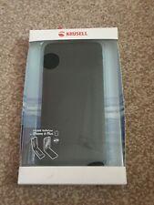 Krusell Kalmar GENUINE LEATHER Flip Case Wallet Cover Apple iPhone 6 Plus