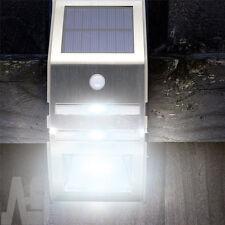 2x Wireless PIR Motion Sensor Solar LED Security Flood Wall Outdoor Garden Light