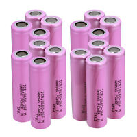 Various PCS ICR 18650 3.7V 2600mAH Li-ion Flat Top Rechargeable Battery For Vape