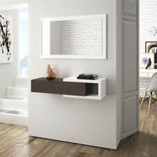 Mobile Kit ingresso Fores con specchio e cassetto Mobili entrata design moderno