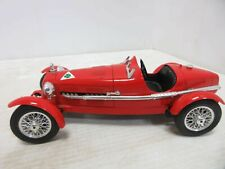 Red Burago 1930's Alfa Romeo 2300 Monza Die-Cast Collector's Car - Made in Italy