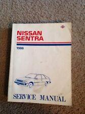 1986 Nissan Sentra Service Repair Manual # SM6E-0B11U0