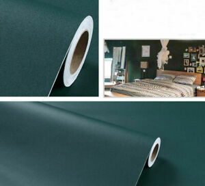 Green Waterproof Wallpaper Peel and Stick Contact Paper Self Adhesive Home