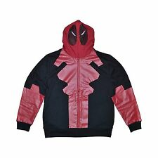 New with Tags Size Small Marvel Deadpool Hoodie Fleece Jacket