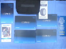 2014 Honda CRV Owner's Manual with Carry Case and Assorted Books