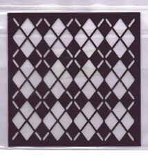 Plastic/PVC/Embossing/Stencil/Argile/Diamond/484.142.016