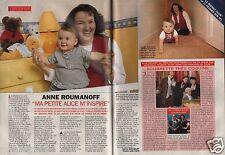Coupure de presse Clipping 1996 Anne Roumanoff   (2 pages)